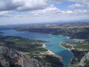 215 le lac ste croix vue de la falaise